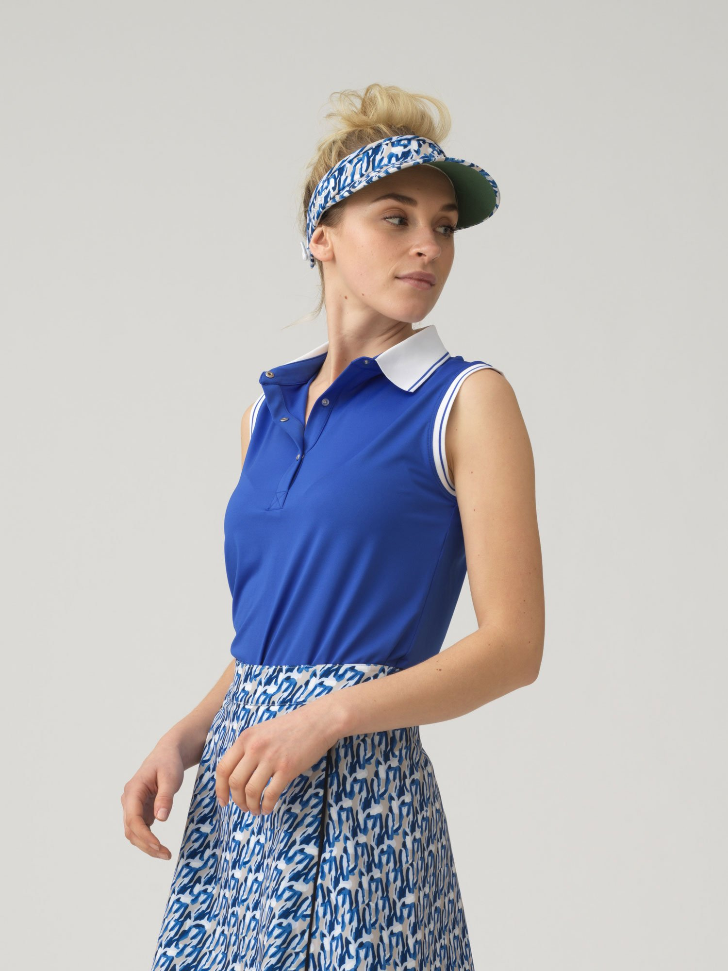 Nilla sleeveless polo Shirt