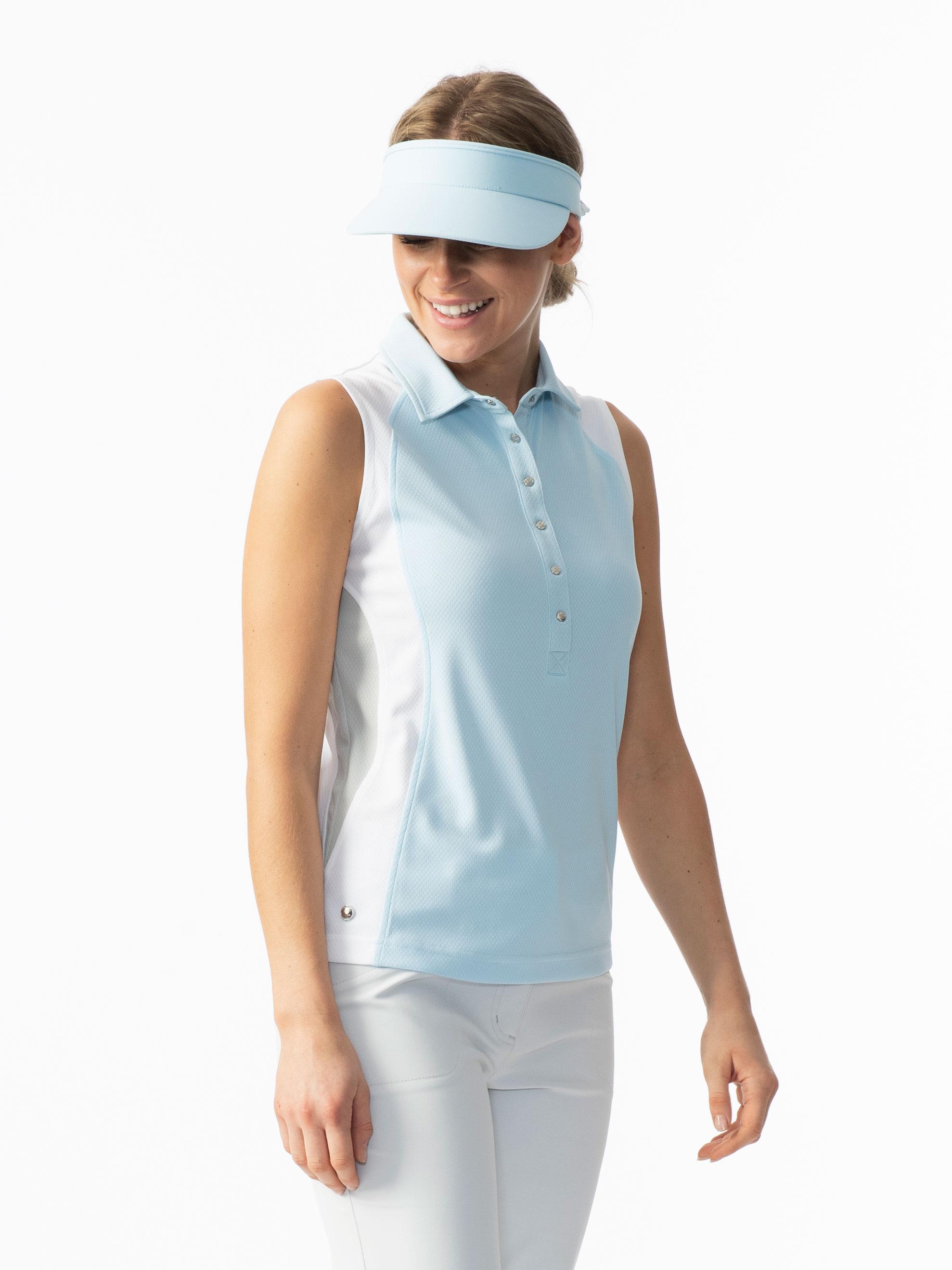 Zenia Sleeveless Polo Shirt