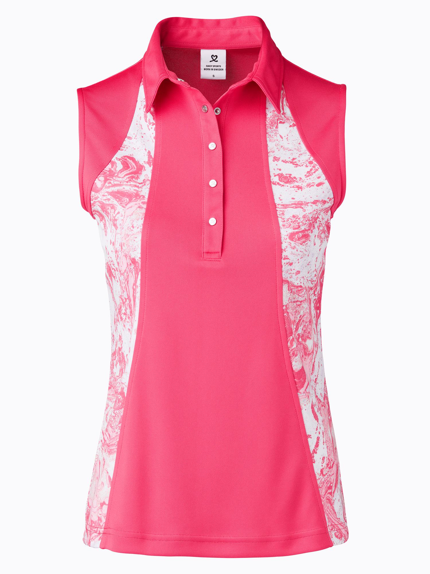 Adelina Sleeveless Polo Shirt