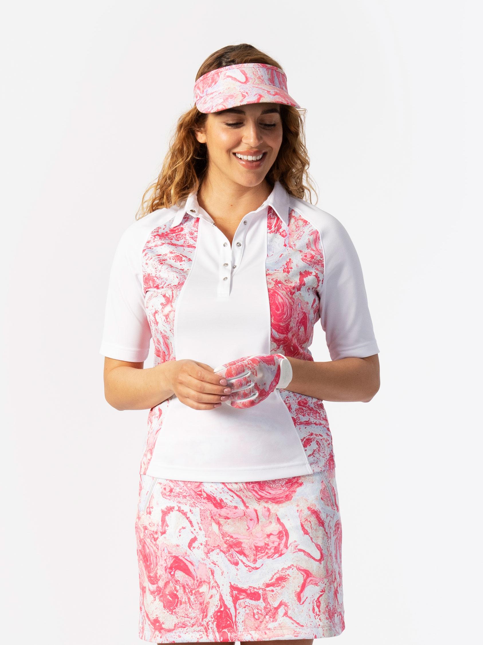 Adelina Short-sleeved Polo Shirt