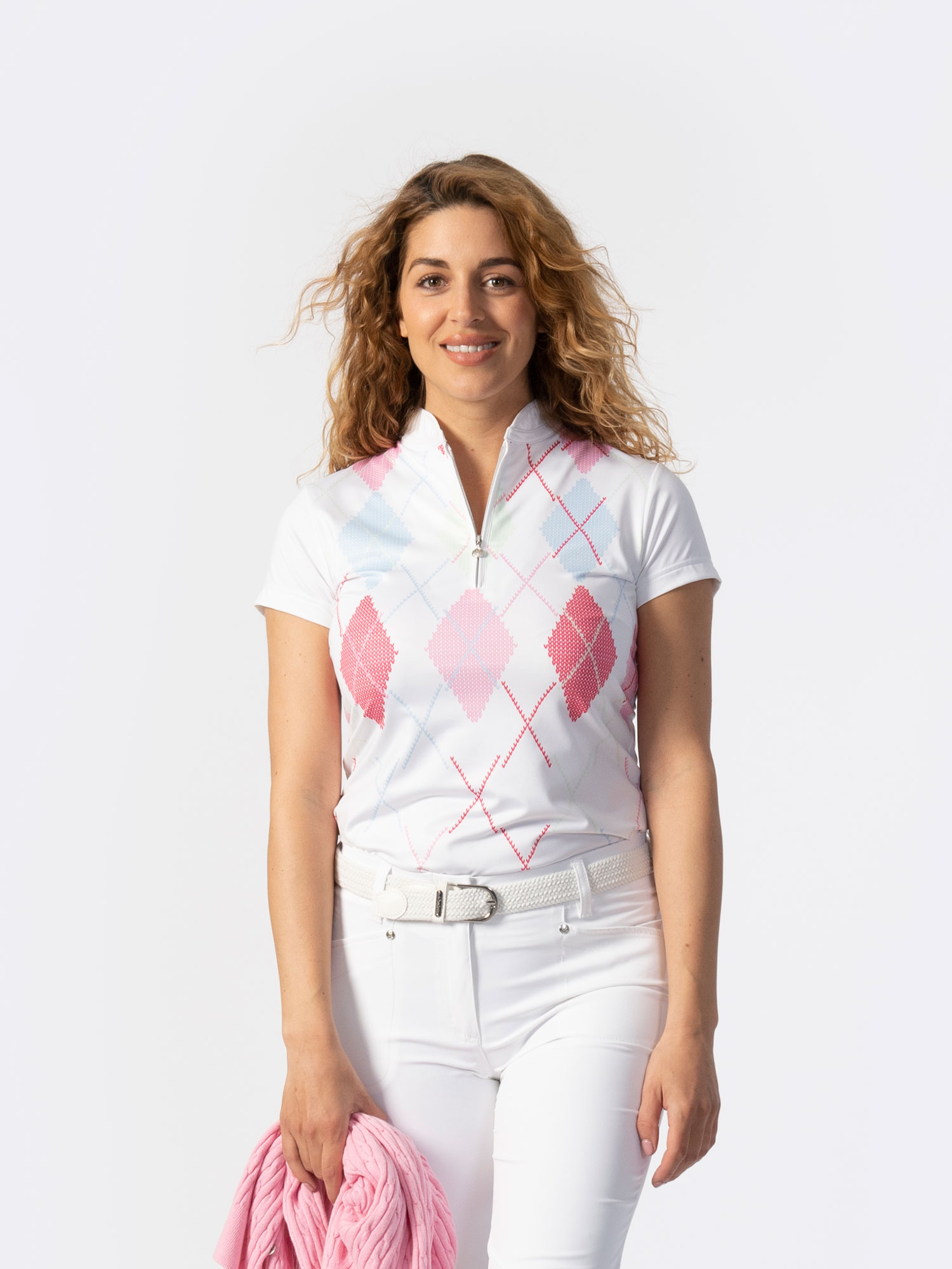 Aletta Short-sleeved Polo Shirt