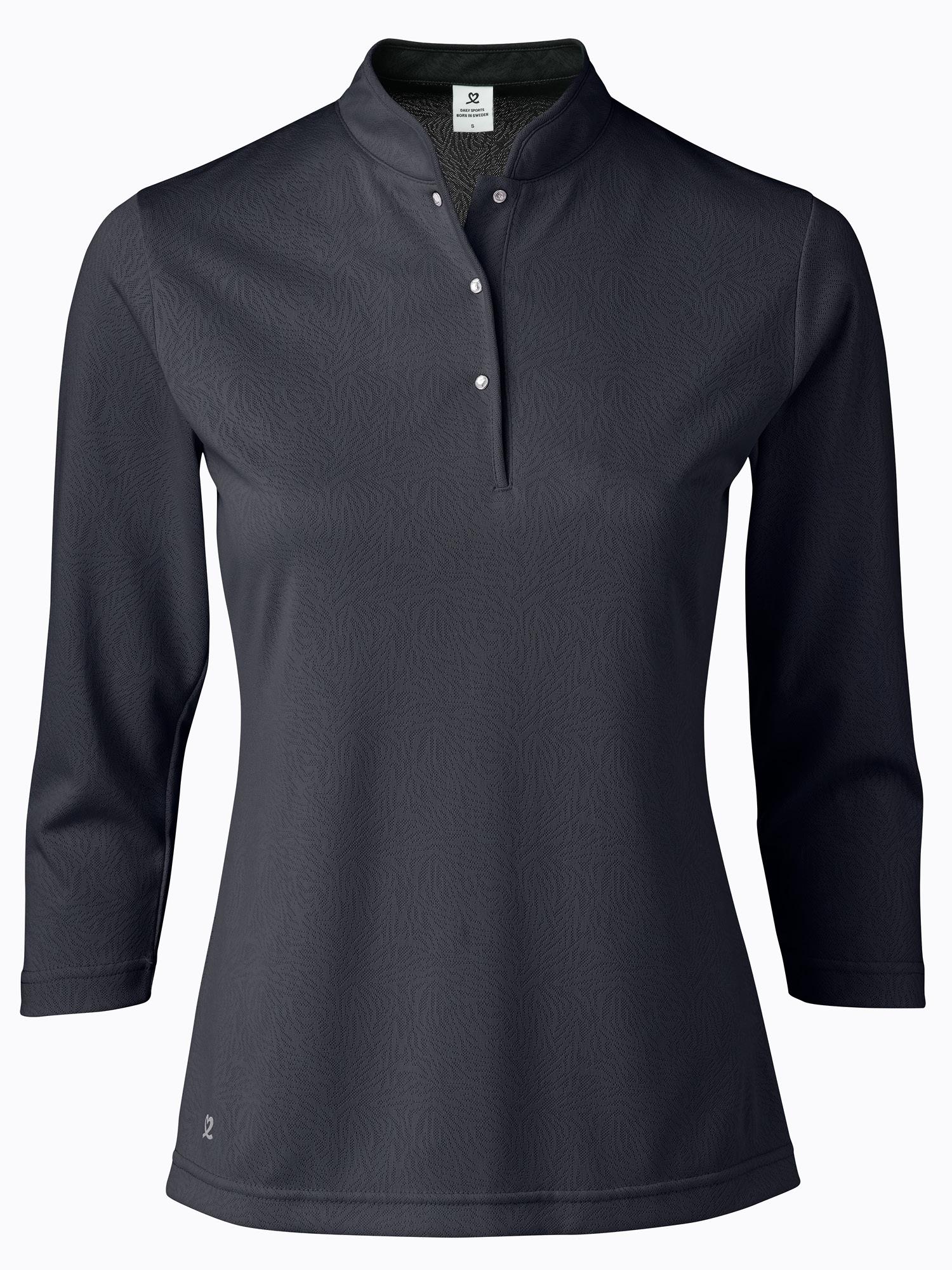 Uma 3/4 Sleeve Polo Shirt