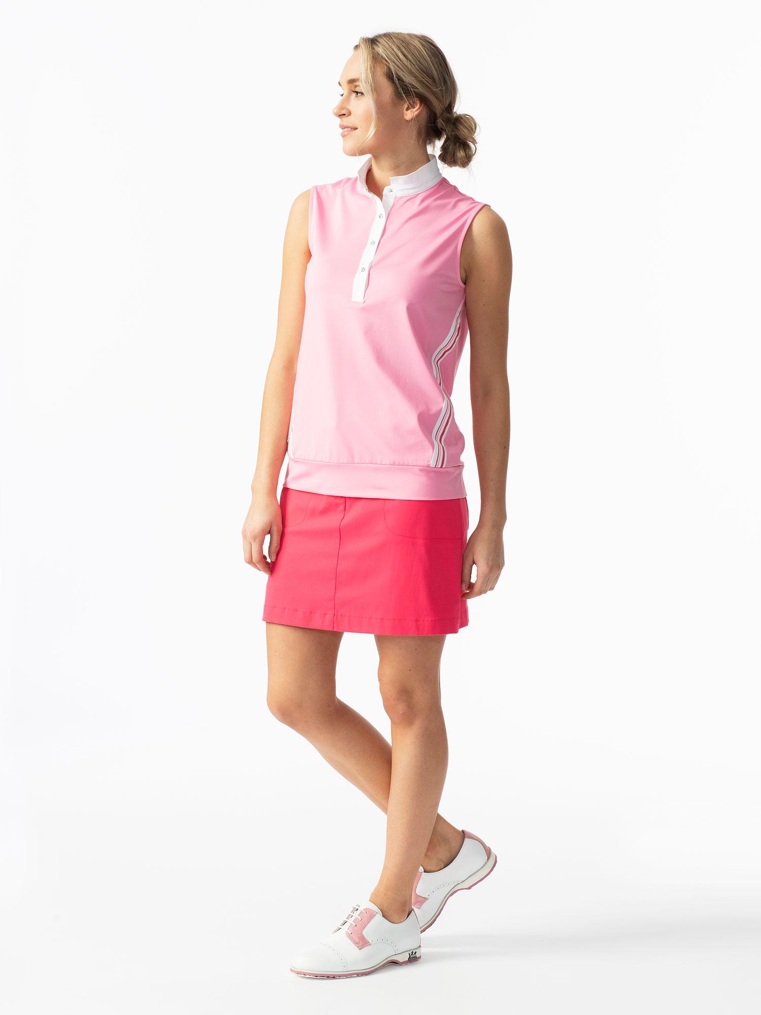 Cadence Sleeveless Polo Shirt