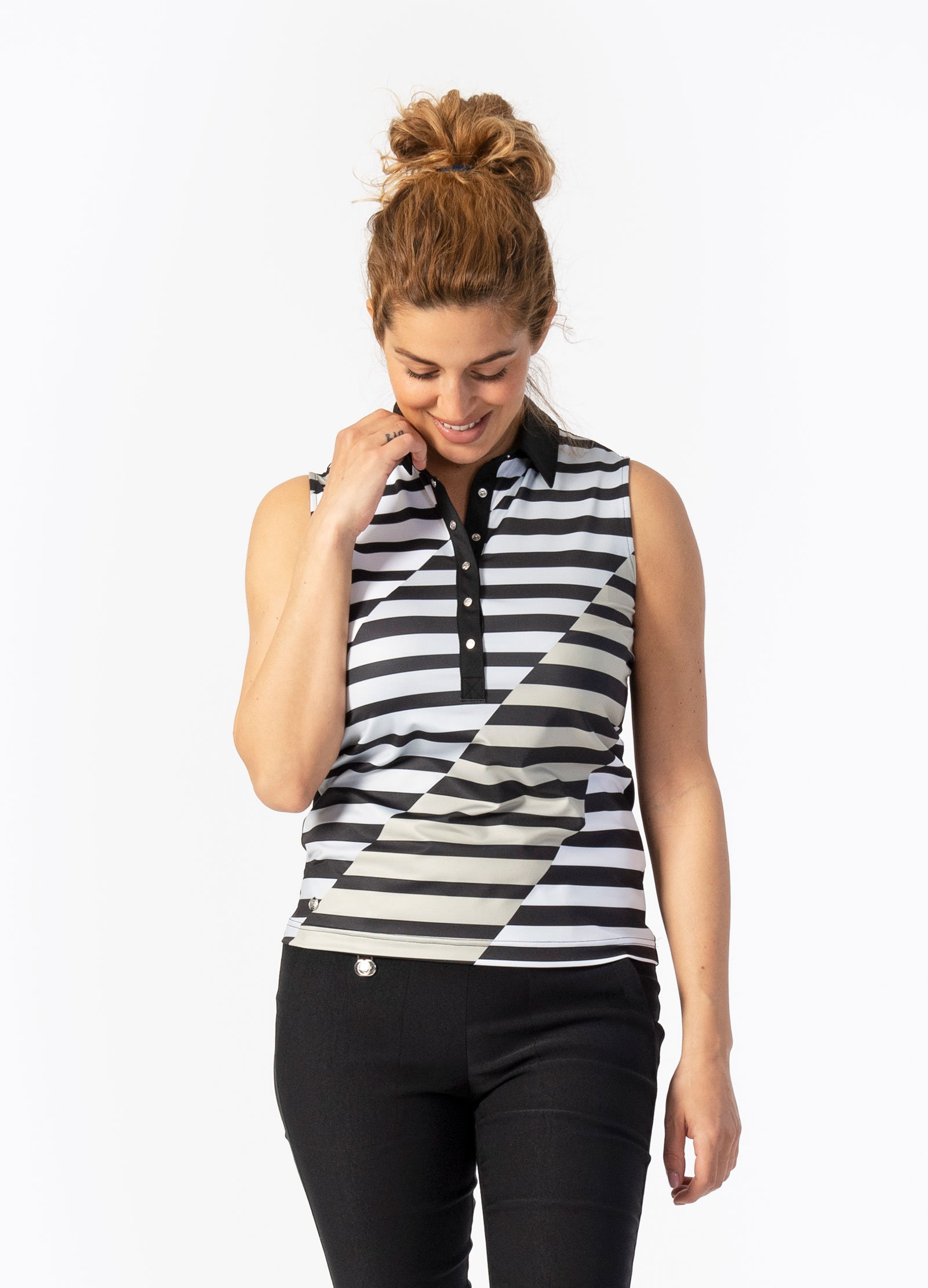 Judy Sleeveless Polo Shirt