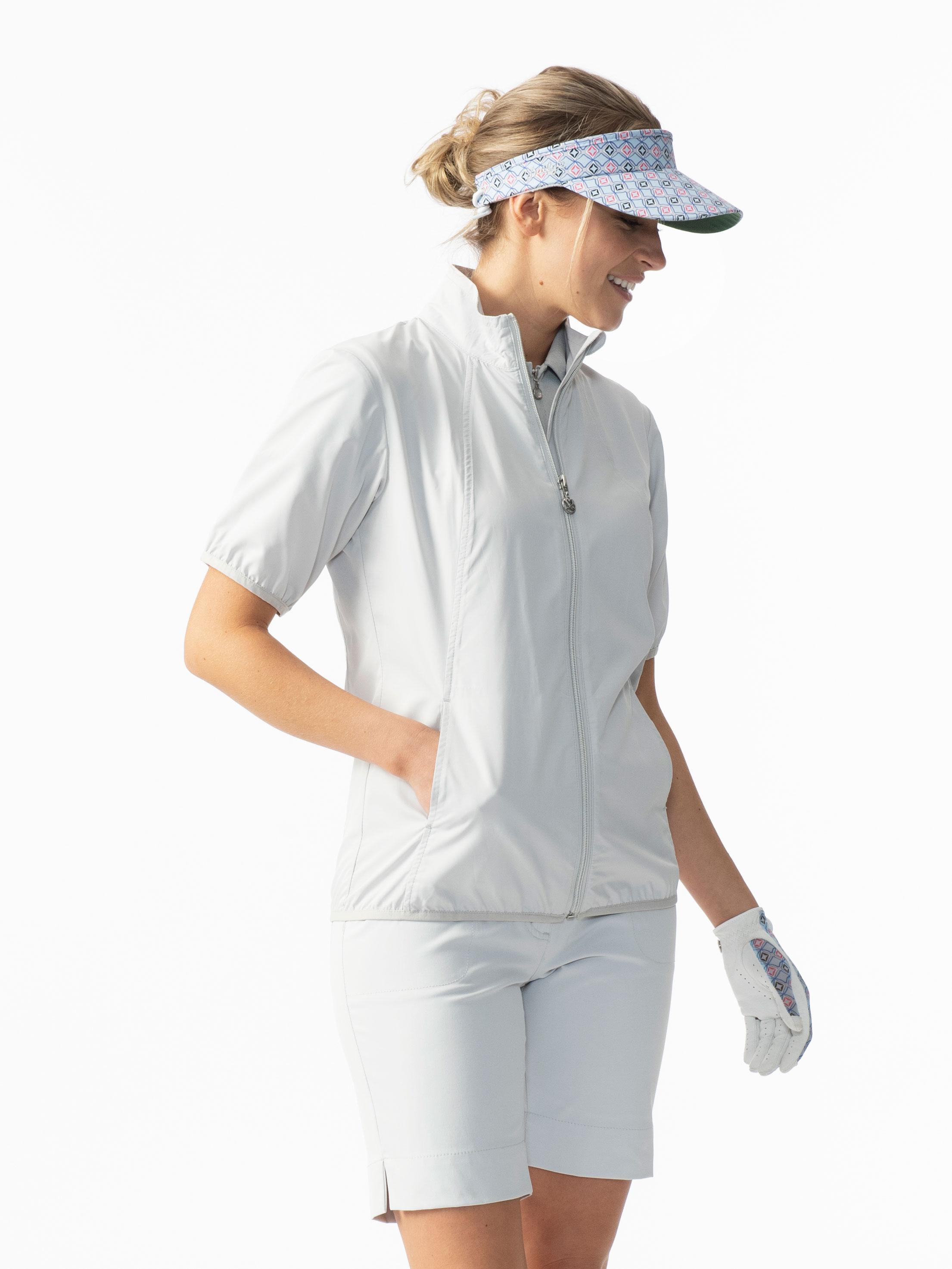 Mia Short-sleeved Windbreaker Jacket